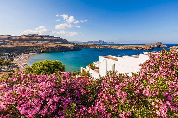 Lindo's op het eiland Rhodos