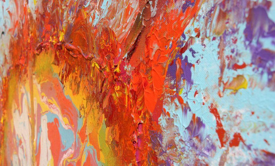 Burning sky detail 5 van Toekie -Art