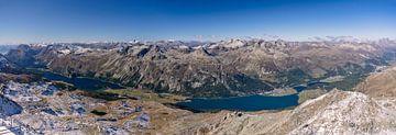 Alpenpanorama van Achim Thomae