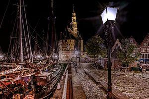 Hoorn Hoofdtoren avond