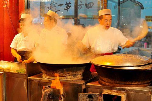 Stir frying sur