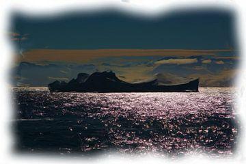 Antarktische Landschaft von Maurice Dawson