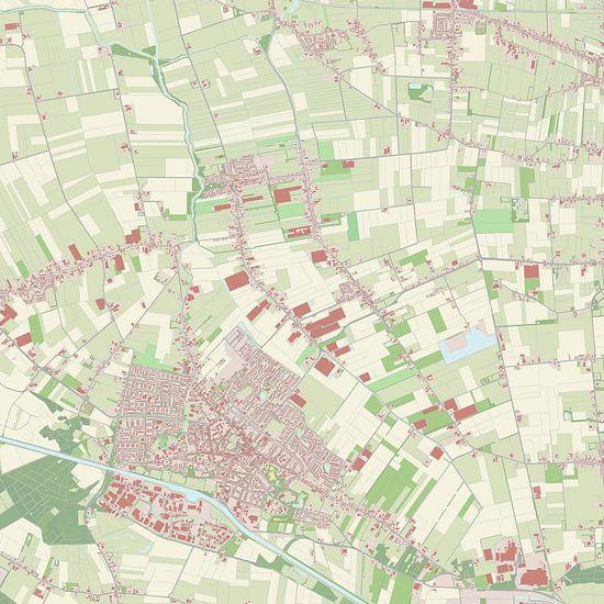 Kaart vanDongen