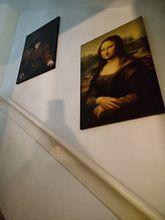 Kundenfoto: Mädchen im Bilderrahmen - Rembrandt van Rijn, auf leinwand