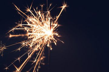Vuurwerk sterretjes van Suzanne Schoepe
