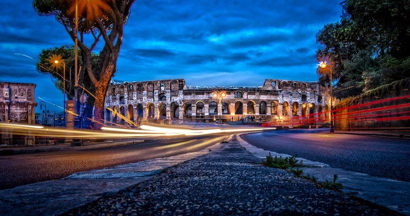 City Lights - Rome in HDR van juvani photo