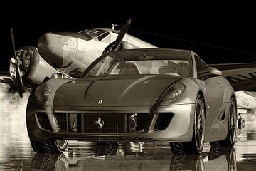 Ferrari 599 GTB Fiorano Ein Hochleistungsfahrzeug