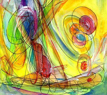 Turbolines - Pop Art von Claudia Gründler