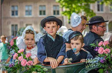 Zeeuwse kinderen in dracht van Lisette van Peenen