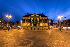 Stadhuis en Grote Markt Groningen