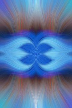 A Blue Kiss van Henk Meijer Photography