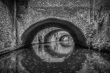 Die Binnendieze in 's Hertogenbosch von Mike Bot PhotographS