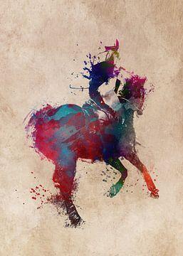 Reiter #Reiter #Pferd #Sport von JBJart Justyna Jaszke