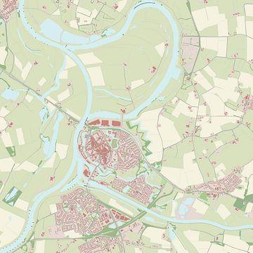 Kaart vanDoesburg