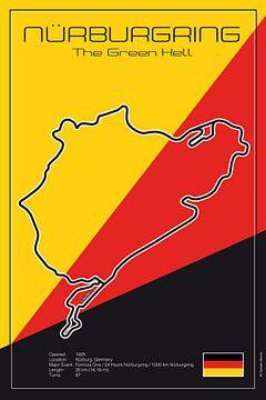 Racetrack Nürburgring_Nordschleife van Theodor Decker
