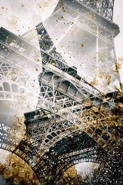 Tour Eiffel | De l'or en barre sur Melanie Viola