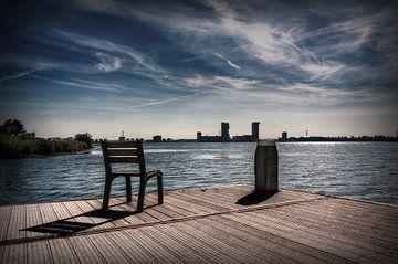 Sitzen und entspannen von Eus Driessen