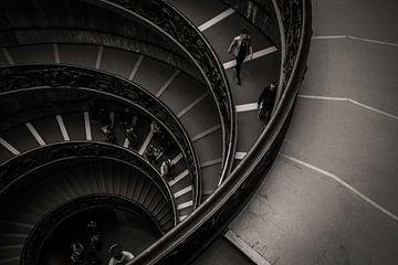Schwarz-Weiß-Vatikan, Rom, Italien von Jessie Jansen