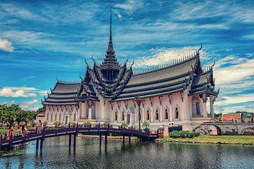 Het grote paleis van Bangkok van Bernd Hartner