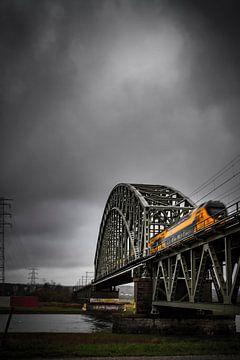 De Spoorbrug Oosterbeek van Nicky Kapel