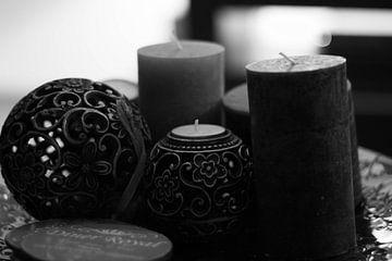 Kaarsen Decoratie  van Joshua Van hugte