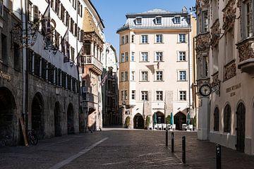 Lege straten in het centrum van Innsbruck