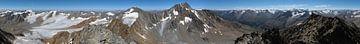 Mountain Panorama  Vorderer Brochkogel von Christian Moosmüller