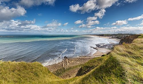 Omaha Beach Frankrijk Normandie strand van Rob van der Teen