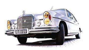 MERCEDES-BENZ 280 SE 1971 van marco de Jonge