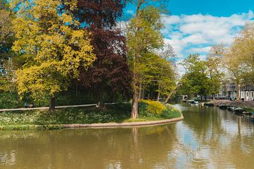 De singel in Utrecht, Nederland van marijn zeilstra