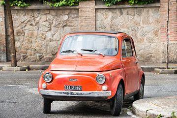 Klassieke Fiat 500 van Aukelien Minnema