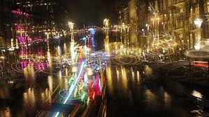 Amsterdam light fest van