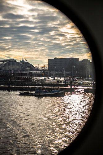 Centraal Station Amsterdam van PIX URBAN PHOTOGRAPHY