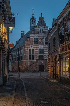 Das alte Rathaus in Oudewater von Manuuu S