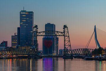 "De Hef en Erasmusbrug in Rotterdam - ""Take Care"""