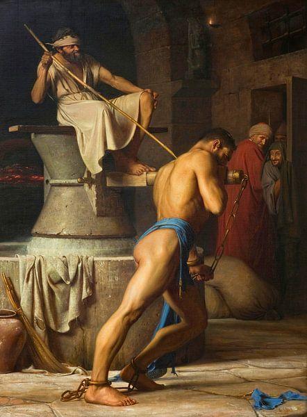 Samson und die Philister, Carl Bloch von Meesterlijcke Meesters