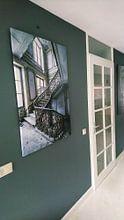 Klantfoto: Prachtige trap in verlaten villa van Inge van den Brande
