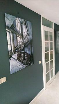 Klantfoto: Prachtige trap in verlaten villa