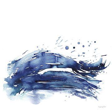 Coastal Splash III, Mercedes Lopez Charro van Wild Apple