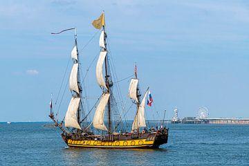 Antiek hoogschip, schip van Digikhmer