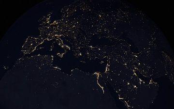 Europa lichten van Maurice Dawson