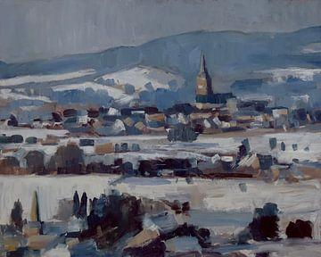 Vijlen im Schnee von Nop Briex