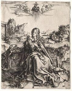 Die Heilige Familie mit dem Schmetterling, Albrecht Dürer