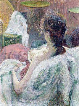 Henri de Toulouse-Lautrec - das Modell ruht