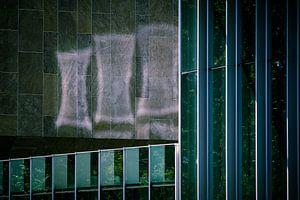 Reflexion an der Wand von Bert Broekhuis