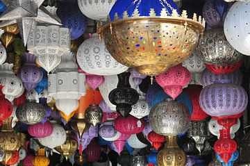 Marokkanische Lampen von Theo van Woerden