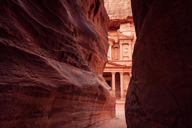 Petra - Jordanie van Laura Vink