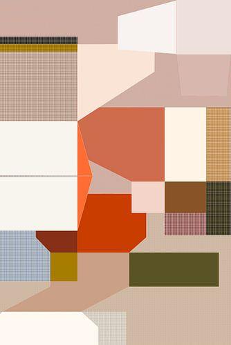 Vlakken 1 van Miriam Duda