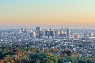 Skyline von Brüssel von Mark Bolijn