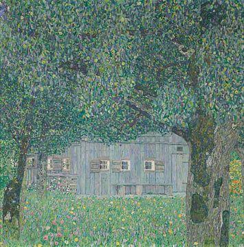 Boerderij in Buchberg, Gustav Klimt, Gustav Klimt